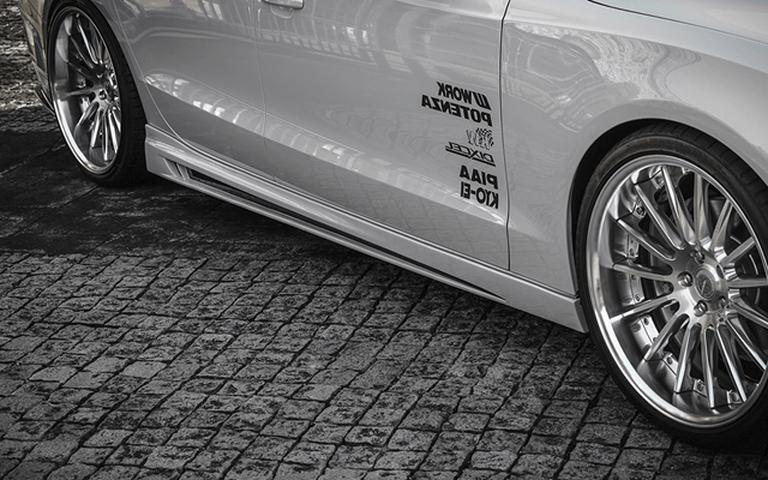 Audi A5 外装 エアロパーツ サイドステップ ROWEN(ロェン) サイドステップ