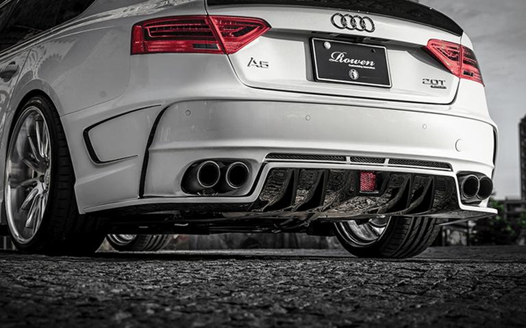 Audi A5 外装 エアロパーツ リアバンパー ROWEN(ロェン) リヤバンパー