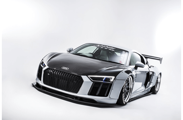 NEWING|ALPIL Audi R8-RSR Complete Body Kit