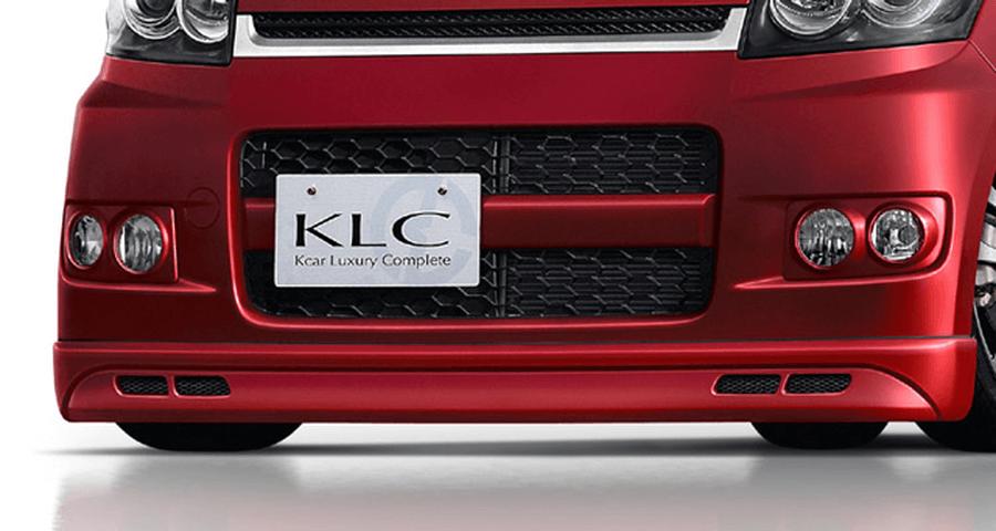 L175/L185 ムーヴ 外装 ライト フォグランプ KLC LXフォグランプカバー