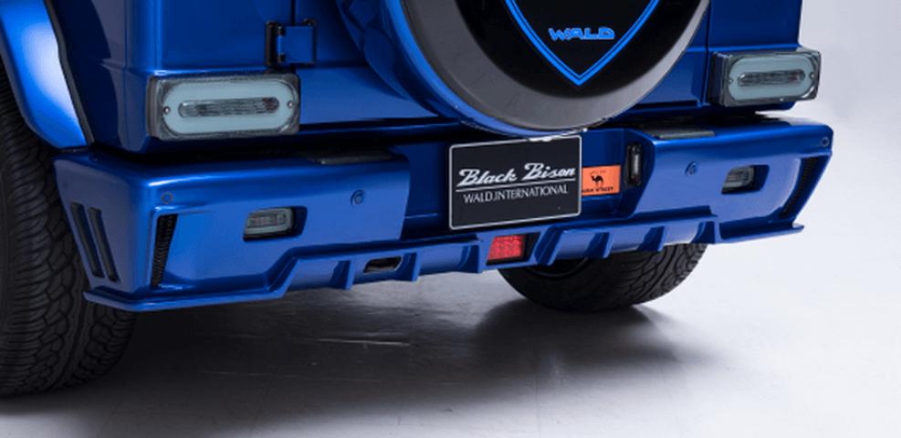 BENZ G W463 外装 エアロパーツ リアバンパー WALD リアバンパースポイラー
