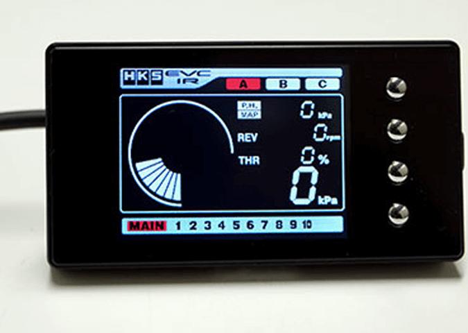 GD インプレッサ 電子機器 ブーストコントローラー ブーストコントローラー本体 HKS EVC6-IR 2.4
