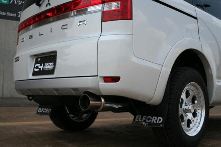 デリカD:5 排気系 マフラー マフラー本体 ELFORD Bスペックマフラー
