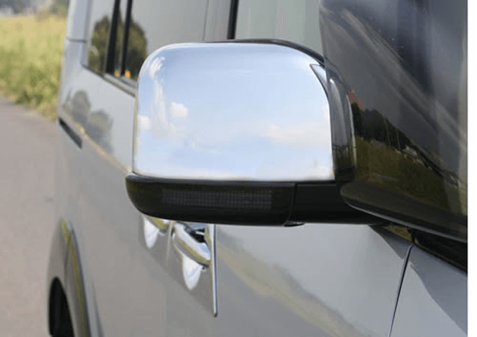 デリカD:5 外装 ドアミラー ドアミラー本体 マックスコーポレーション デリカ D:5 スモークミラーウインカーカバー