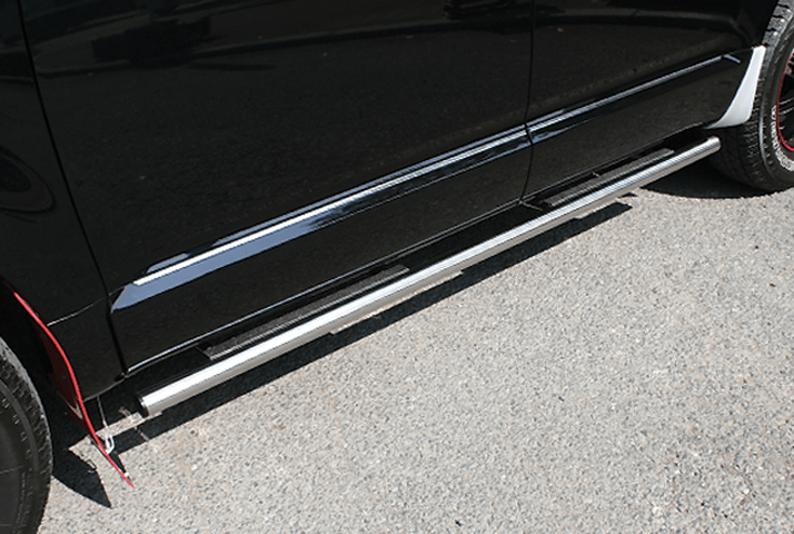 デリカD:5 外装 エアロパーツ サイドステップ ELFORD エルフォード サイドステップ (TYPE-3)