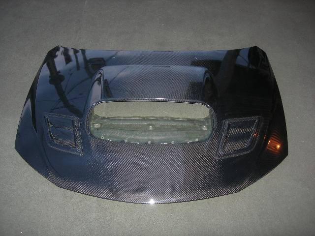 GRB/GRF インプレッサハッチバック STI 外装 エアロパーツ ボンネット l'aunsport(ラアンスポーツ) WRC CUSTOM 08' ボンネット