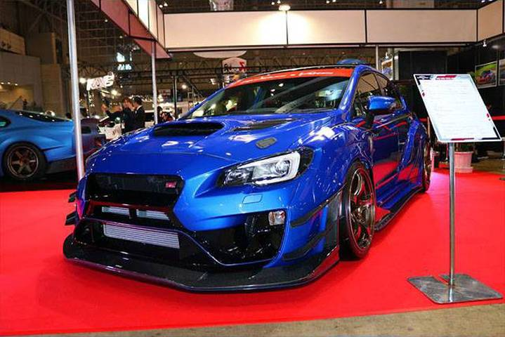 varis vab vag wide body kit wrx va sti s4 モタガレ