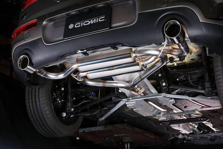 New MINI ミニ BMW F54 クラブマン GIOMIC ジオミック マフラー 社外