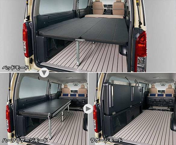 200 ハイエース(4型) 内装 内装その他 荷室パネル・ボード トヨタ モデリスタ ベッドキット