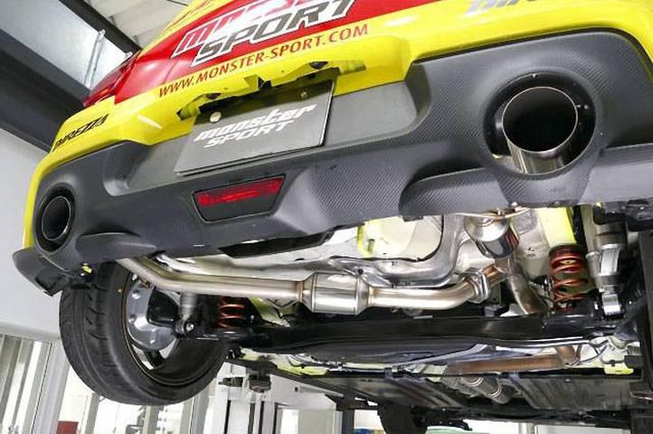 ZC33S スイフトスポーツ 排気系 マフラー マフラー本体 MONSTER SPORT Sp-X デュアルストリートマフラー