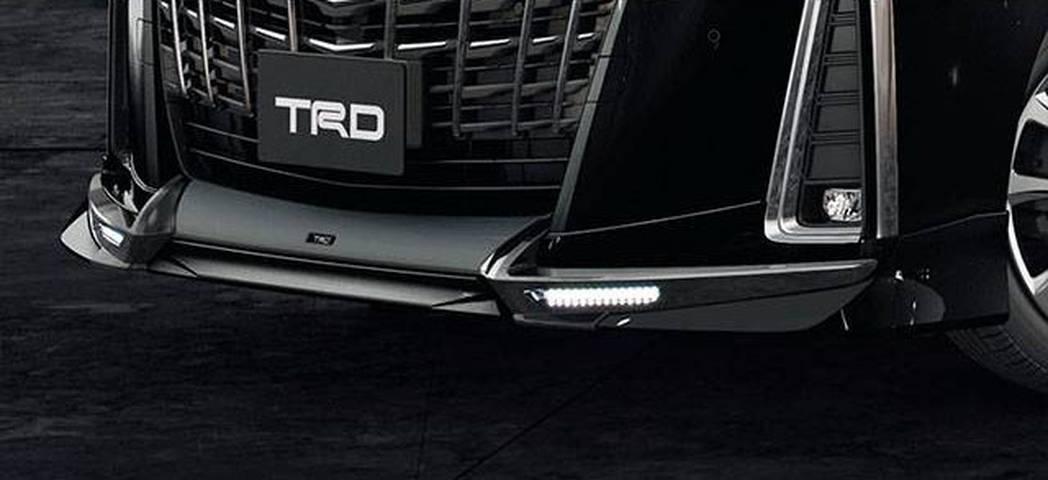 新型30後期アルファード カスタム エアロパーツ ドレスアップ TRD エアログレード フロントスポイラー