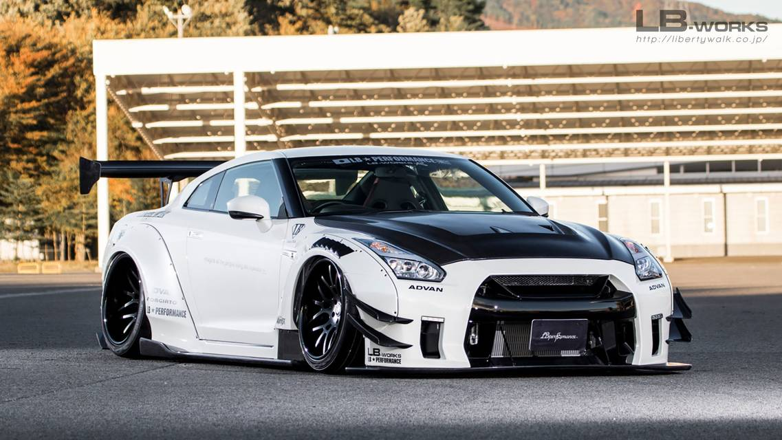 LB-WORKS NISSAN GT-R R35 type 2 Complete body kit 〜2016y