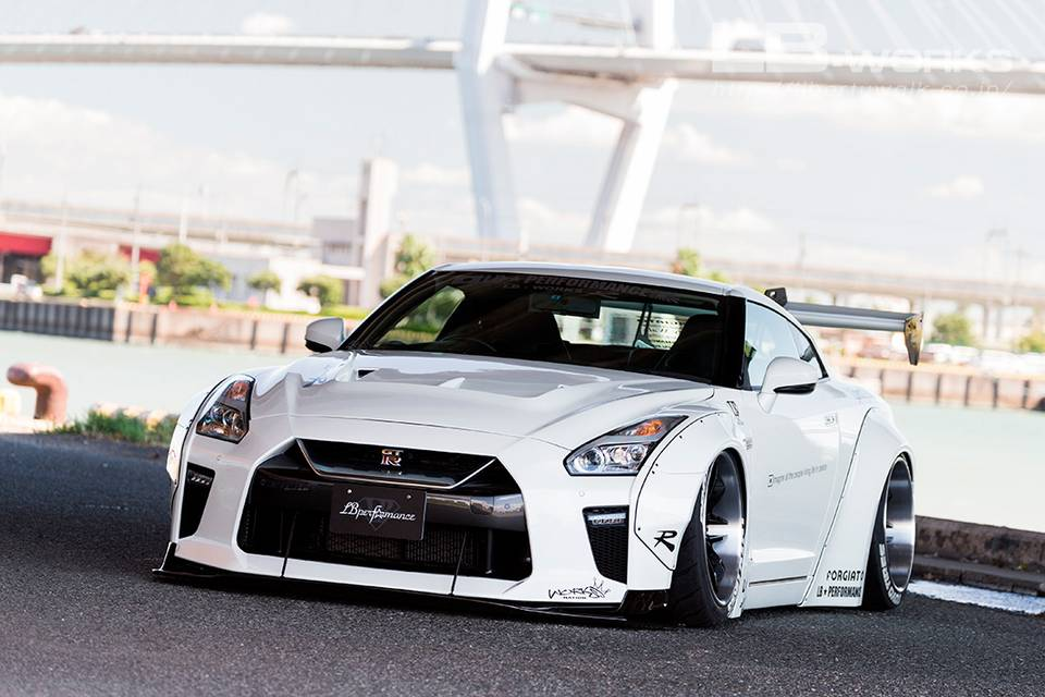 NISSAN GT-R R35 type1.5 Facelift kit for LB-WORKS type1