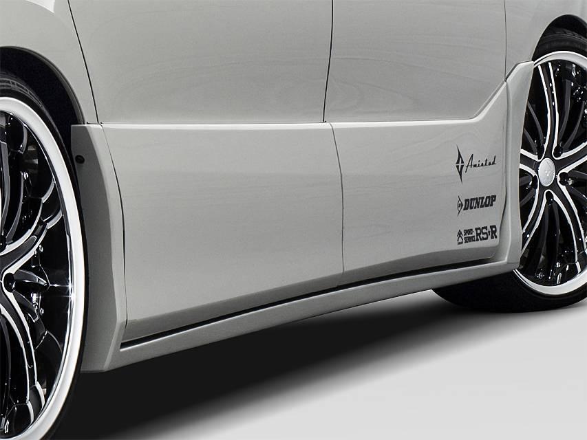 CR50/55 エスティマ エアロパーツ サイドステップ アドミレイション 50エスティマ 後期 サイドステップ