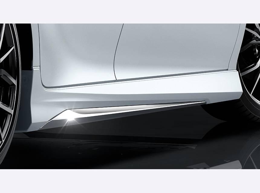 XV70 カムリ 外装 エアロパーツ サイドステップ トヨタ モデリスタ サイドスカート