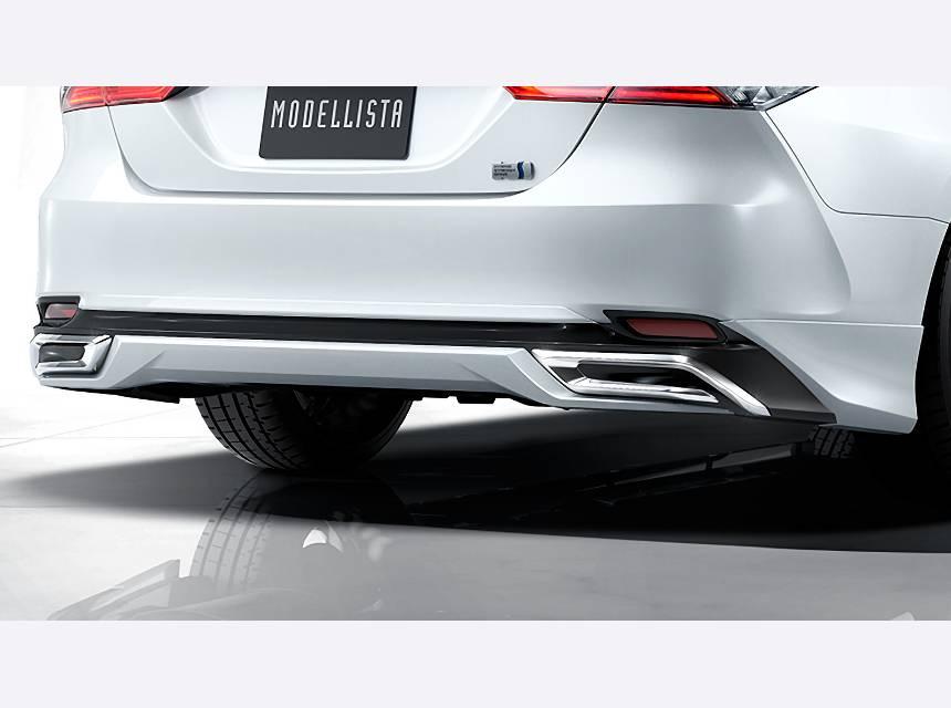 XV70 カムリ エアロパーツ リアアンダースポイラー トヨタ モデリスタ リヤスカート