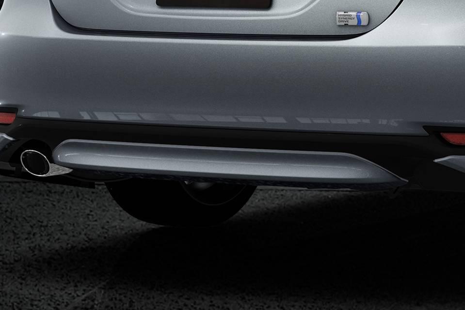 XV70 カムリ 外装 エアロパーツ リアアンダースポイラー TRD リヤバンパーガーニッシュ