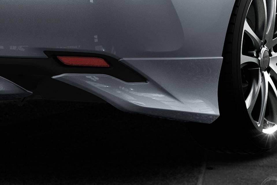 XV70 カムリ エアロパーツ リアアンダースポイラー TRD リヤサイドスポイラー