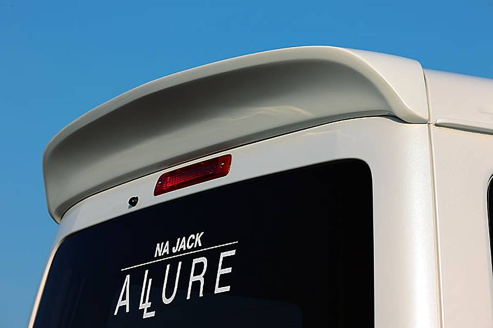 S320/330/321/331 アトレーワゴン 外装 エアロパーツ リアスポイラー/ウイング NA Jack REAR WING