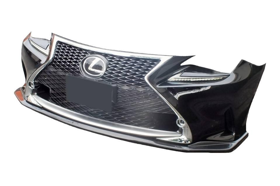 LEXUS RC 外装 エアロパーツ フロントリップスポイラー エアロワークス カーボンリップスポイラー