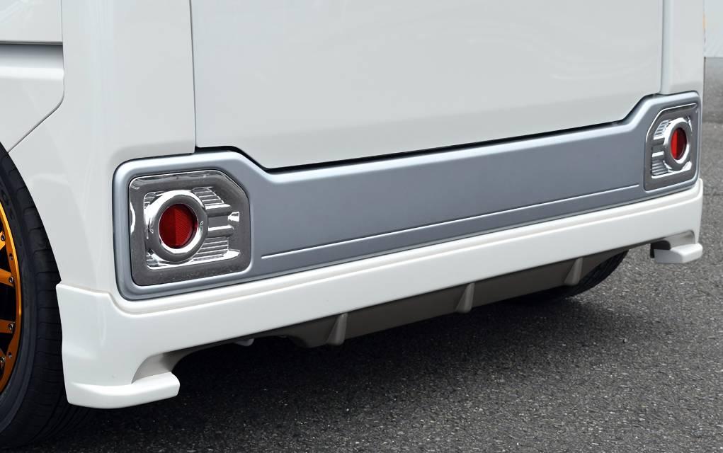ウェイク LA700/LA710S 外装 エアロパーツ リアディフューザー BLESS CREATION Rear Under Spoiler(リアアンダースポイラー)