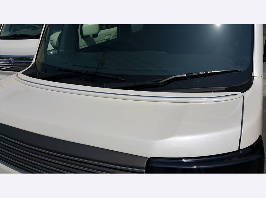 ウェイク LA700/LA710S 外装 エアロパーツ ボンネットスポイラー NANKAI AUTO ALLURE LA700S WAKE ボンネットスポイラー 1色ペイント