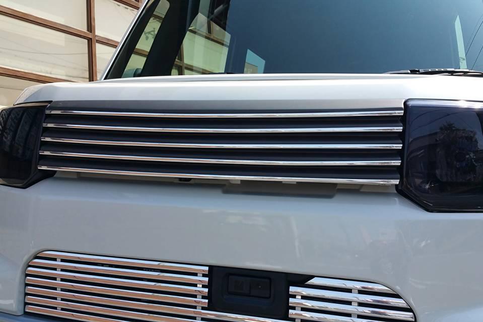 ウェイク LA700/LA710S 外装 エアロパーツ フロントグリル NANKAI AUTO ALLURE LA700S WAKE フロントグリル 1色ペイント メッキモール付