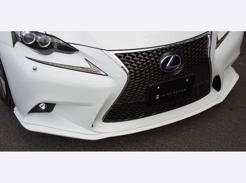 """LEXUS IS GSE3#/AVE30 外装 エアロパーツ フロントリップスポイラー シンクデザイン FRONT LIP SPOILER """"F-SPORT"""""""