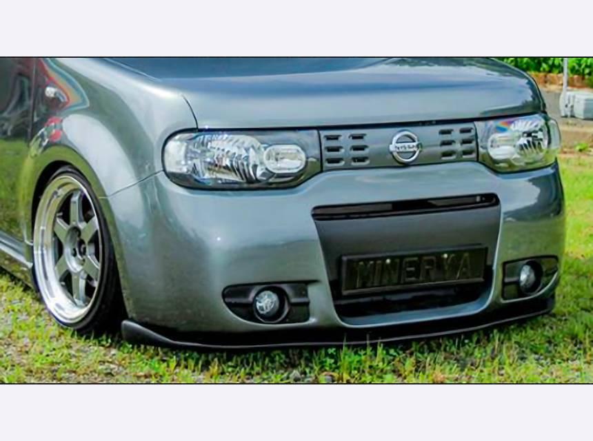 Z12 キューブ 外装 ライト フォグランプ Minerva OPTION F/Bumer FOG Insert
