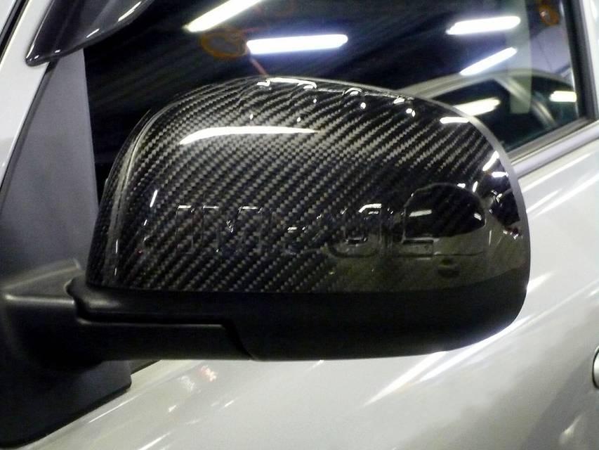 K13 マーチ インパル カーボンミラーカバー