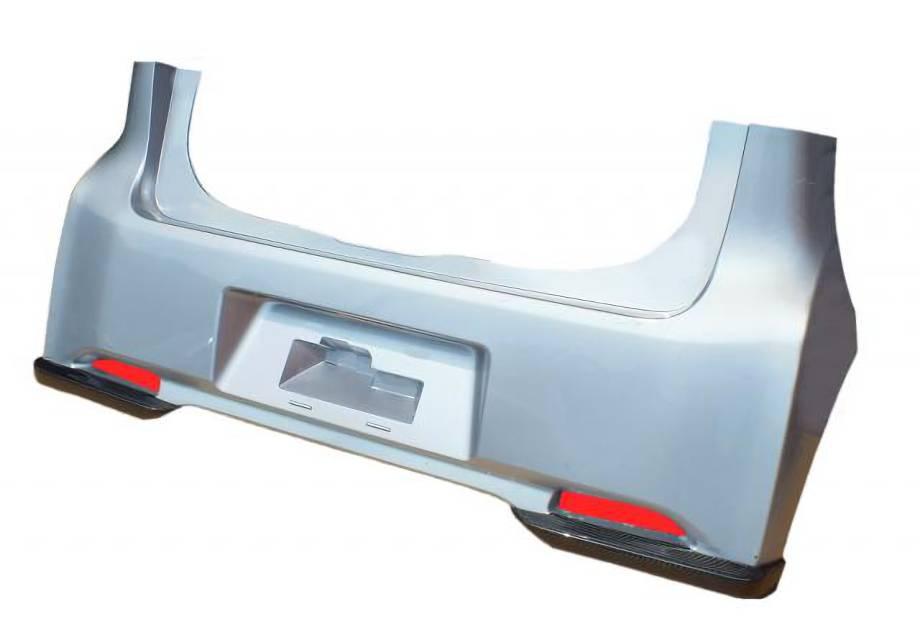 デイズ 外装 エアロパーツ リアアンダースポイラー エアロワークス デイズ(DAYZ) カーボンリアリップスポイラー