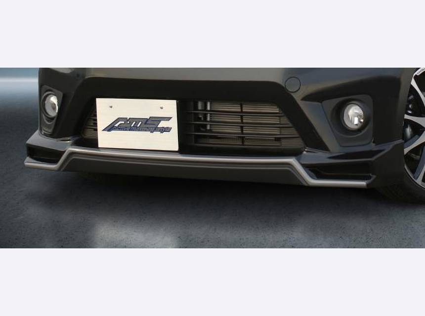 デイズ 外装 エアロパーツ フロントリップスポイラー AMS フロントハーフスポイラー