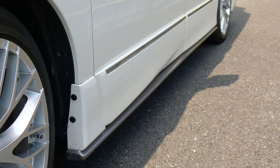 E52 エルグランド 外装 エアロパーツ サイドステップ インパル サイドステップ(左右/1セット)