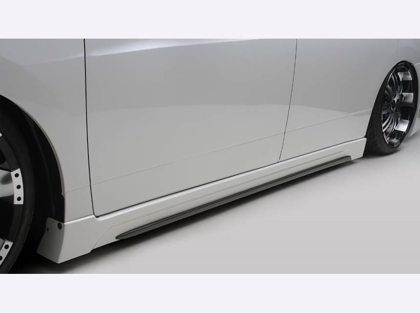 E52 エルグランド 外装 エアロパーツ サイドステップ FLEDERMAUS(フレーダーマウス) サイドスポイラー