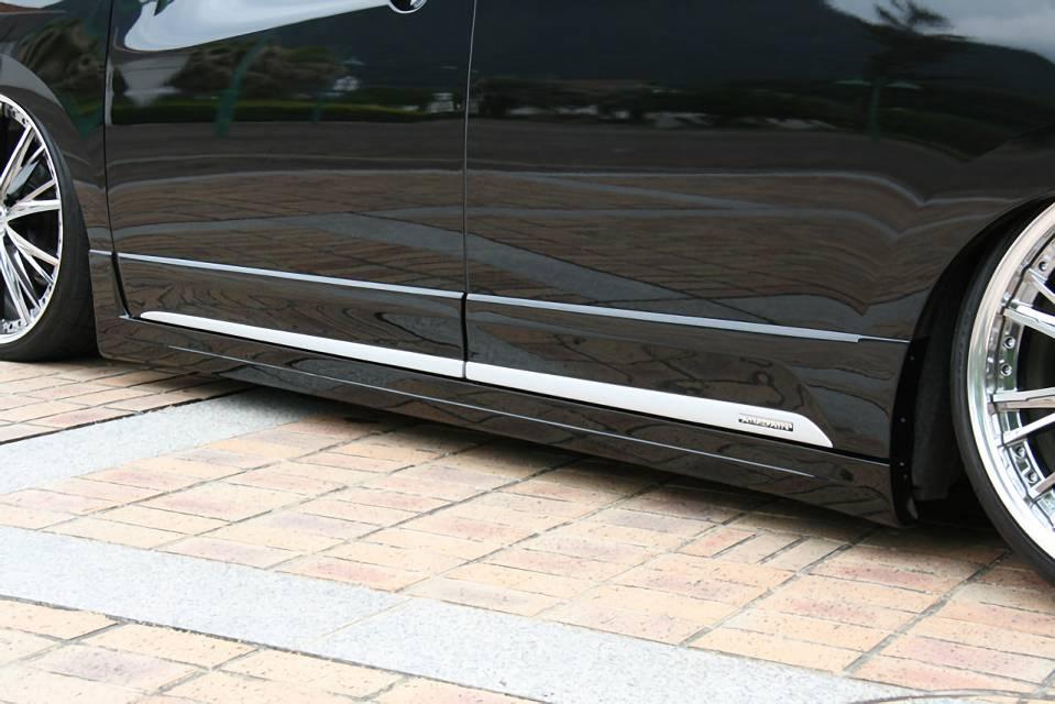 E52 エルグランド 外装 エアロパーツ サイドステップ AIMGAIN SIDE STEP & DOOR PANEL