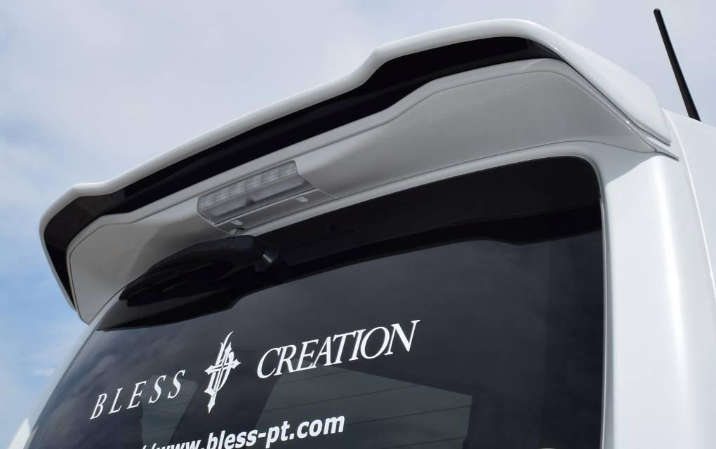 MH55S ワゴンR 外装 エアロパーツ リアスポイラー/ウイング BLESS CREATION Rear Wing(リアウイング)