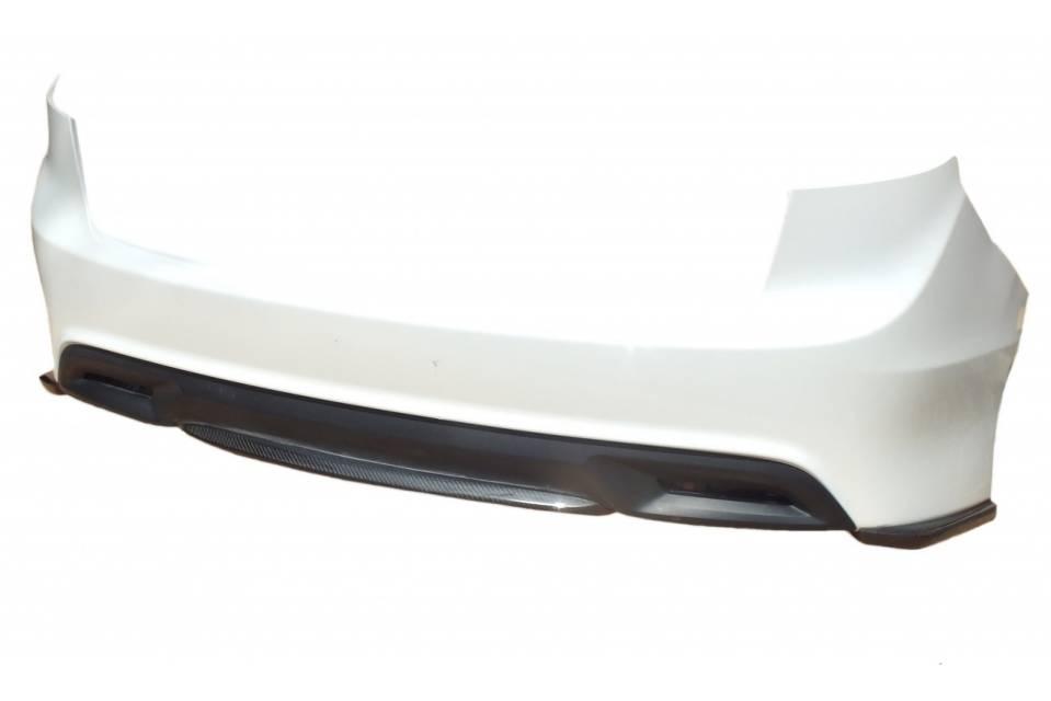 ジェイド FR4/5  エアロパーツ リアアンダースポイラー エアロワークス ジェイド カーボンリアリップスポイラー(3分割タイプ)