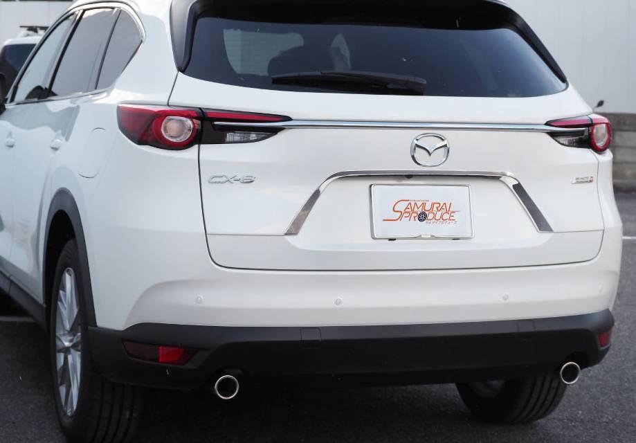 CX-8 外装 外装その他 外装アクセサリー類 SAMURAI PRODUCE リアガーニッシュ ナンバープレート周り