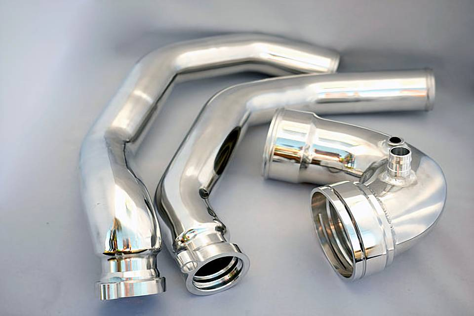 IP Charge Pipes Plus for BMW M3/M4 S55 Motor