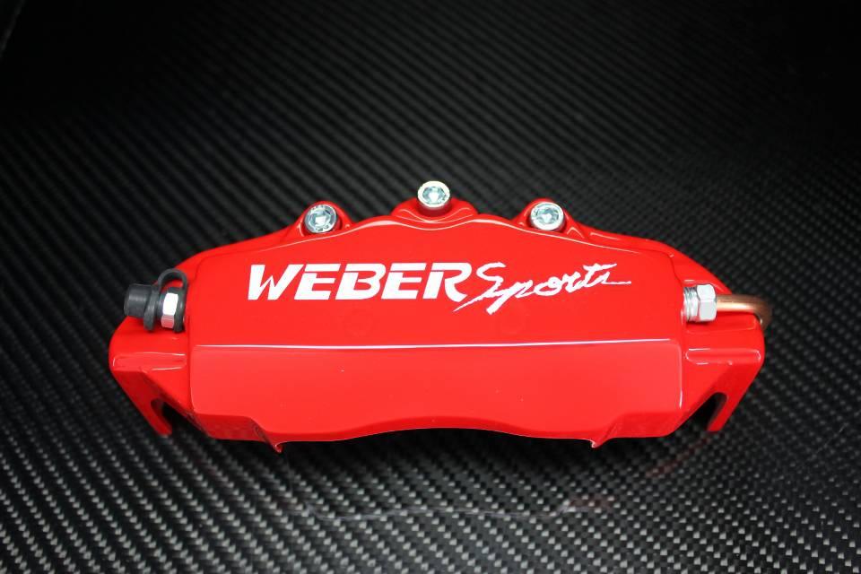S660 COM SPIDER フロントのみ イエロー カラードブレーキキャリパー