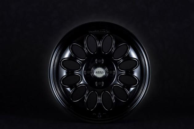 ASSO International | PartireMODA 16×7J ET37 4/98 PIANO Black ミト ホイール mito 社外