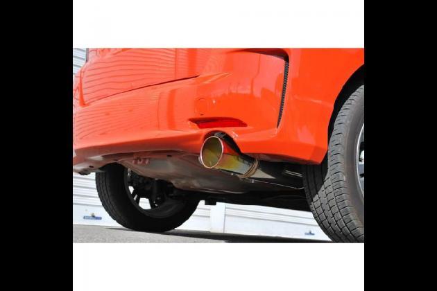 HONDA フィット マフラー RS GE8 チタンテール rossomodello