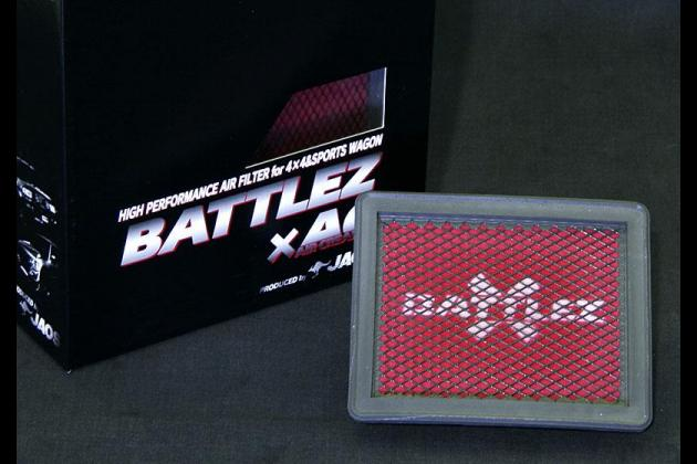 BATTLEZ エアクリーナー パジェロ ミニ H58系