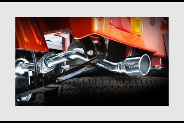 LS-304 (レベルサウンド304) 軽トラック専用車検対応マフラー
