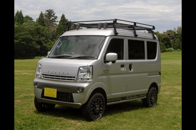 FAF forest auto フォレストオート リフトアップ ハイリフト 軽バン エブリィ N-VAN スプリング