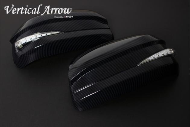 【100セット限定 カーボンルックカバー】 Vertical Arrow TypeZs LED ドアミラーウィンカー
