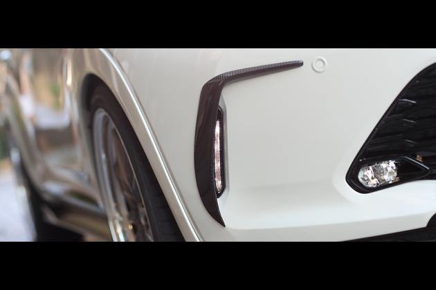 トヨタ ハリアー 後期型 エアロパーツ カスタム ドレスアップ 社外 60系 65系