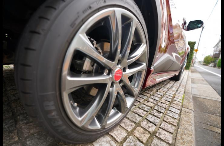 19インチアルミホイール「TRD TF5」&タイヤセット