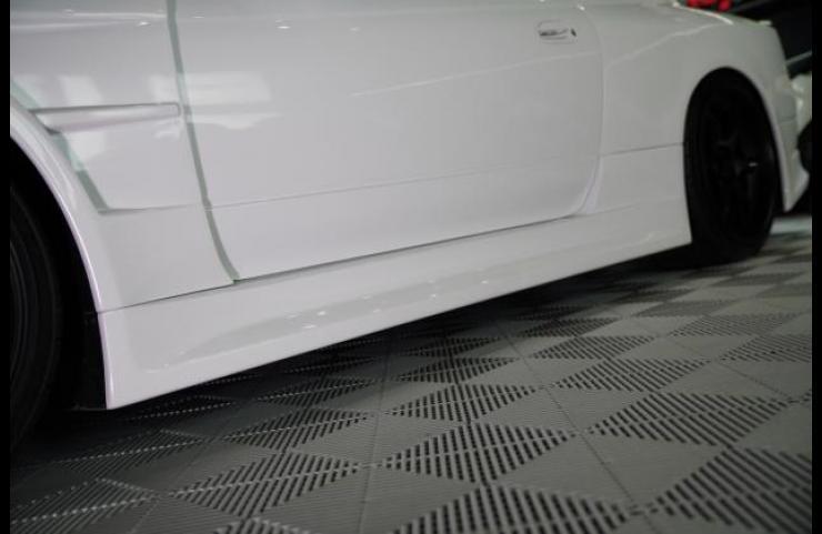 VERTEX EDGE S15 シルビア サイドステップの画像